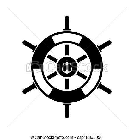 dessin roue bateau roue bateau ic 244 ne roue marin isol 233 illustration