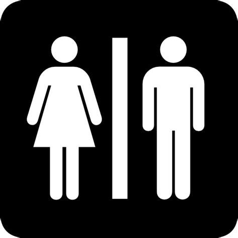 male female bathroom signs