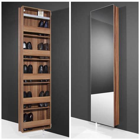 mirrored shoe storage mirrored rotating shoe storage solution 1189 88