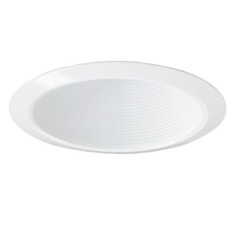 6 Recessed Lighting by 6 Quot Recessed Lighting Air Tight White Stepped Baffle Trim