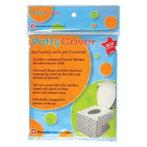 disposable potty seat covers buy potty cover disposable toilet seat covers 6 pieces