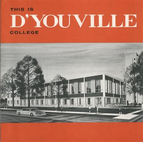 Niagara College Letterhead Letterhead D Youville College Archives