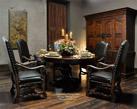 old world dining room furniture tuscan dining room tables large round dining table for old