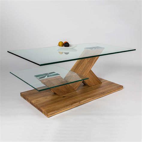 Couchtisch Holz Mit Glasplatte by Massivholz Couchtisch Dudleys Mit Glasplatte Pharao24 De