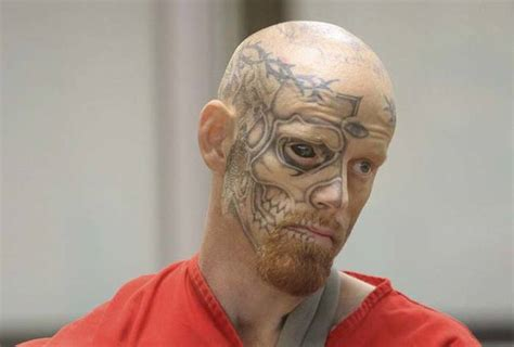 This Convicted Criminal's Appearance Is Straight Out Of Your Nightmares