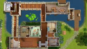 Japanese Traditional House Floor Plan mod the sims akane house japanese quot inaka quot house