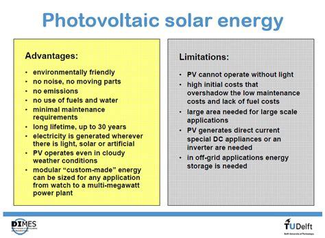 Plants That Require Little Sun by Solar Energy Advantages And Disadvantages
