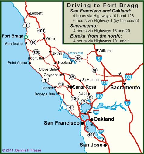 california map fort bragg getting here the many routes to fort bragg fortbragg
