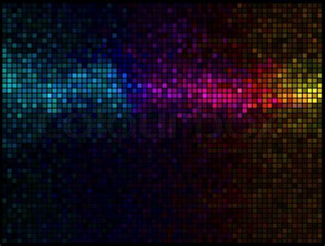 Shop Online Decoration For Home by Multicolor Abstract Lights Disco Background Square Pixel