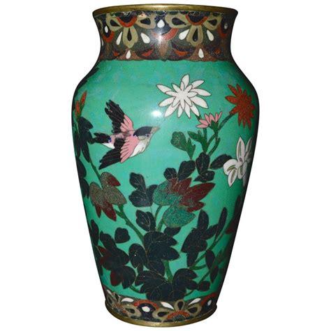 Cloisonne Vase Antique by Antique Meiji Period Japanese Green Cloisonn 233 Vase For