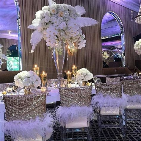 1000 images about quot harlem nights quot wedding on feather bouquet ostrich
