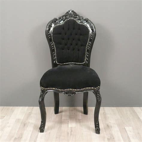 chaises baroques chaise baroque fauteuils et mobilier de style