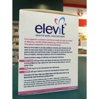Sale Elevit With Iodine 100 Tablet Berkualitas genuine bayer elevit with iodine 100 tablets for conception pregnancy baby ebay