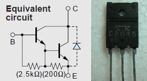 transistor driver sanken d2045 datasheet pdf sanken electric co ltd datasheetq