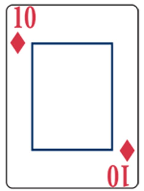 card blank template king of diamonds custom made cards custom designed cards