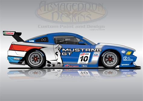 Awesome Car Wallpapers 2017 2018 Calendar by Ford Mustang Gt3 By Armageddondesigns On Deviantart