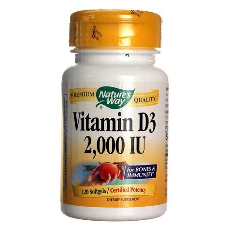Vitamin G3 nature s way vitamin d3 2 000 iu 120 softgels