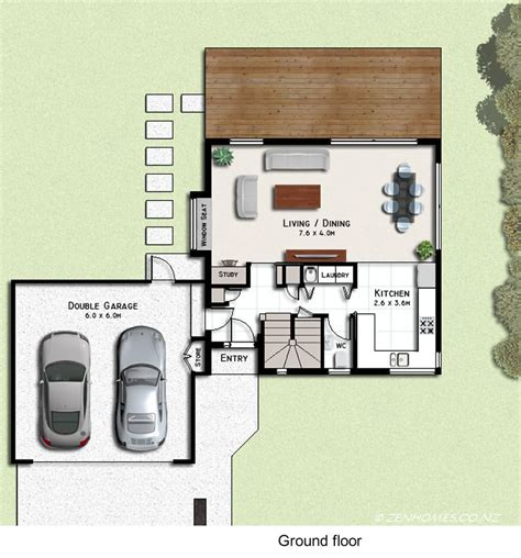 cube house floor plans zen cube house plans new zealand ltd
