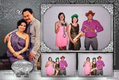 photo booth screen layout double celebration with 2 photo booth layouts