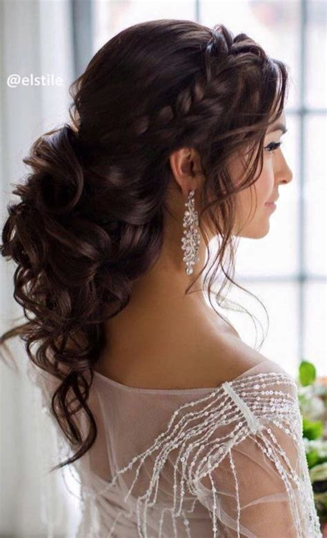 bridal hairstyles dark hair bridal hairstyle inspirations for dark hair