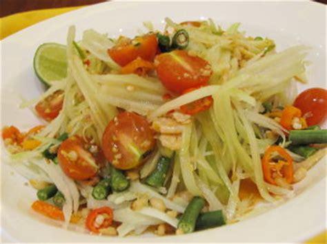 cara membuat salad sayur ala restoran resep salad som tam