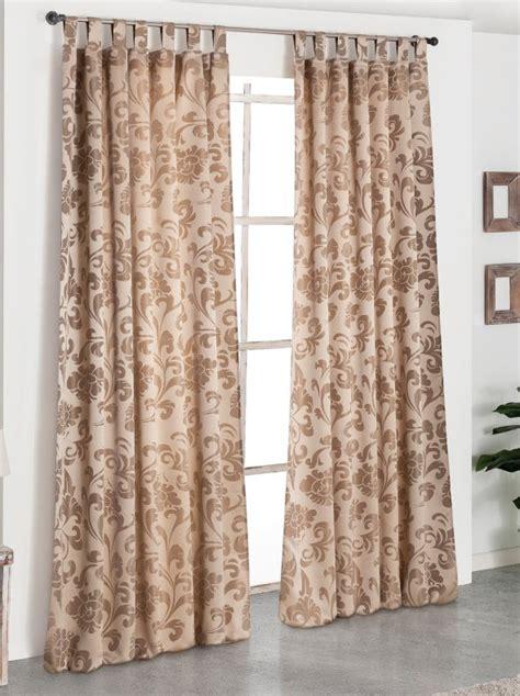 cortinas etnicas cortina con trabillas de elegante dise 241 o jacquard venca