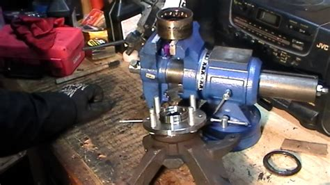 how to replace front wheel bearing hub ford zx2