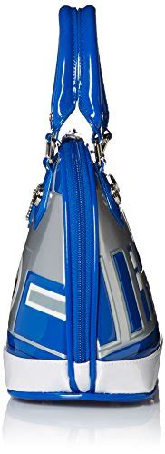 Imported Usa Loungefly X Wars Wallet Bb8 For loungefly wars r2d2 blue white silver patent dome bag import it all