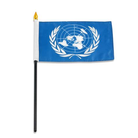 United Nations Nation 9 by United Nations Flag 4 X 6 Inch