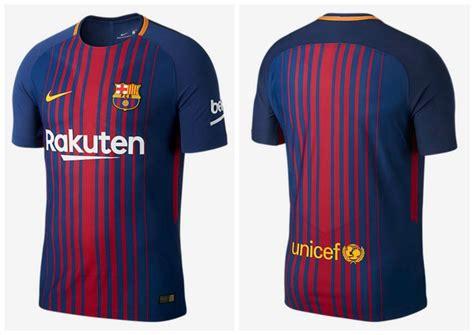 barcelona jersey 2018 fc barcelona 2017 18 nike home kit football fashion org