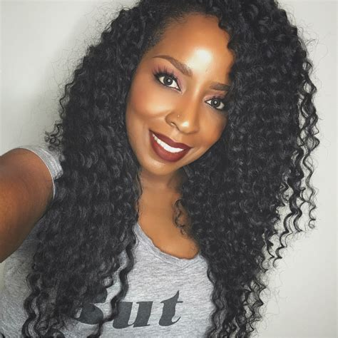 crochet weave hairstyles crochet braids for vacation using deep wave by model model