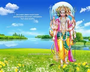 panchmukhi hanuman wallpaper free download wide hd