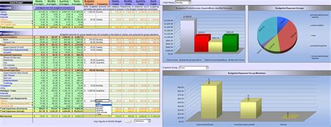 Monthly Budget Template Excel 2007 Excel 2007 Home Budget Spreadsheet Download Household