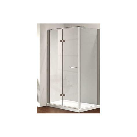 box doccia parete fissa osb box doccia con porta girevole e parete fissa