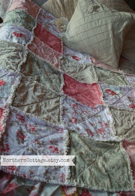 custom rag quilt picnic blanket so cozy northern cottage www northerncottage net