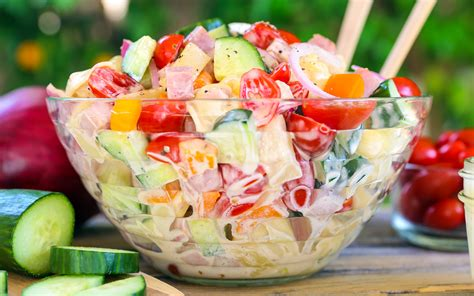 potluck salad potluck perfect summer pasta salads