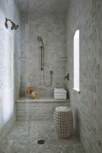 beveled marble subway tiles transitional bathroom