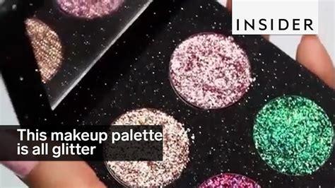 Mba Cosmetics Glitter Eyeshadow Palette glitter makeup palette