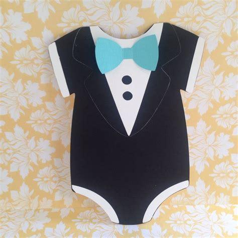 customized dapper tuxedo onesie baby shower invitation boys tiffany inspired tuxedo baby shower onesie invitation
