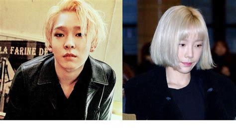 Model Rambut K Pop Korea by Rambut K Pop 9 Artis Korea K Pop Dengan Rambut Pirang
