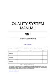 quality manual template example pdfsr com