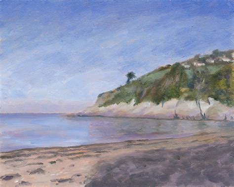lester point in combe martin bay ilfracombe lester point combe martin 187 dave crocker artist