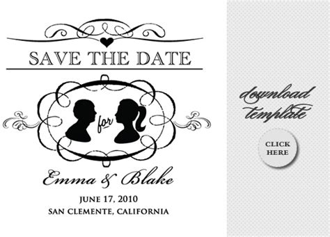 save the date design template vintage hankie do it yourself save the date invitations