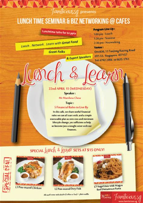 Lunch And Learn Flyer Gallery Lunch And Learn Flyer Template