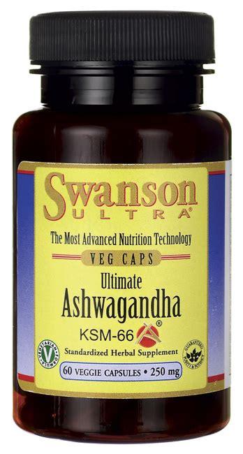 Ksm 66 Ashwagandha Extract Konsentrasi Dan Stress Reduction Herbal ashwagandha ksm 66 swanson health products europe