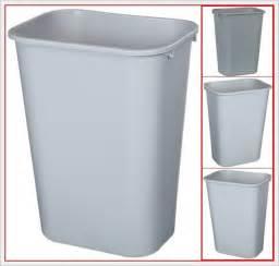 rubbermaid wastebasket trash can bin garbage office