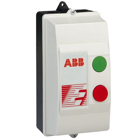 abb 7 5kw 3 phase plastic motor direct on line dol