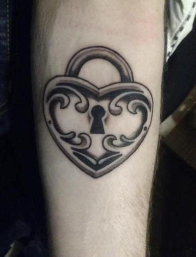 tattooed heart instrumental lower key heart shaped lock tattoo designs heart shaped lock