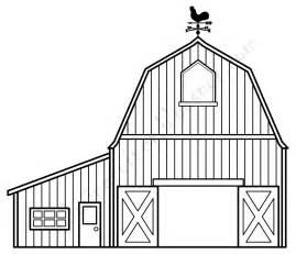 the barn line barn coloring pages