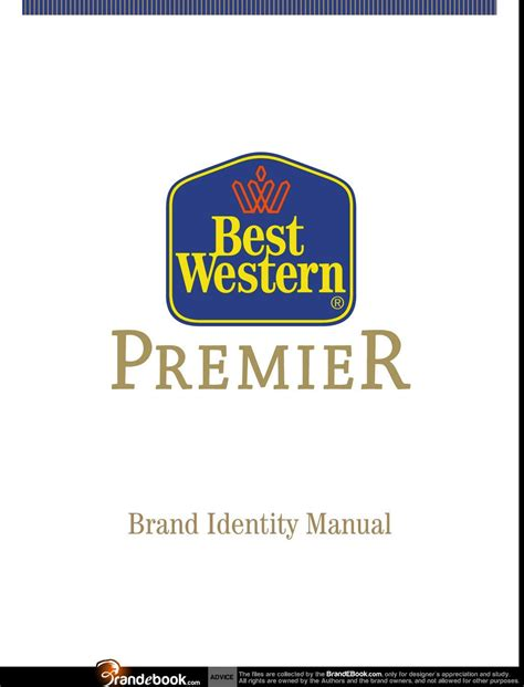 western brand brand manual corporate identity guidelines pdf